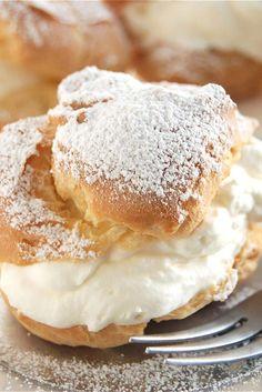 Cream Puffs and Éclairs Recipe