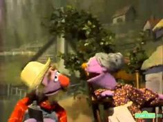 """Classic Sesame Street - Song: """"There's a Hole in the Bucket""""  from the 1970's. Had to pin because my family looked at me like I had 2 heads when I started singing it... Now there's proof that it did exist as part of my childhood and I'm really not just weird,,, well OK... I'm weird... just not for that.."""