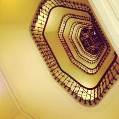 Stairs at InterContinental Carlton Cannes Photo by milosdjukelic