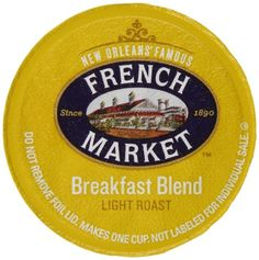 French Market Coffee Single Serve Cups, Medium-Dark Roast With Chicory, 12 count ** Find out more details by clicking the image : Fresh Groceries Coffee K Cups, Coffee Pods, Hot Coffee, Green Mountain Coffee, Fair Trade Coffee, Coffee Store, Single Serve Coffee, Dark Roast, Blended Coffee