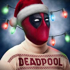 Deadpool Blu-Ray Holiday Edition | Read More: http://www.deadpoolbugle.com/2016/11/deadpool-blu-ray-holiday-edition.html