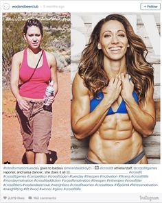 Often times we judge a person with a nearly perfect physique as having good genetics. Well, the ladies in this list proved that it's not always about genetics. As long as you work hard for the body you want, then it will happen!