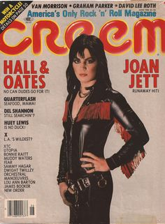 1981 Creem Magazine cover