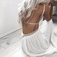 Beautiful back detail