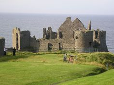 Dunluce Castle is a now-ruined medieval castle in Northern Ireland.