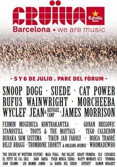 Los días 5 y 6 de Julio se realiza el Festival Cruïlla en Barcelona. El mestizaje de estilos más completo de todos los años. ¿Os animáis? ¡En Silence os presentamos qué artistas actuarán!