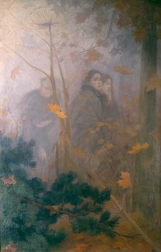 Victor Prouvé, Vision d'Automne, 1899