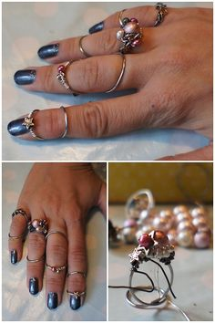 Eds-fingers goes pink. home made ring splints for swan neck fingers. Pinned via pinmarklet Ehlers Danlos Hypermobility, Ehlers Danlos Syndrome, Mens Silver Necklace, Men Necklace, Polymyalgia Rheumatica, Rheumatoid Arthritis, Inflammatory Arthritis, Go Pink, Hand Therapy