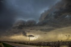 NebraskaSC Photography posted a photo:  April 9, 2017- North of Odessa Nebraska  Prints Available...Click Here  2nd Chase of 2017...  I got positioned just ahead of the front, even though it was pacing fast to the east. I had about 10 mins before the front passed again.  Severe Thunderstorm Warnings were in effect now for eastern Dawson and Western Buffalo Counties. The storm that I had caught south of Lexington had split and those cells now were south my location were producing golf ball…