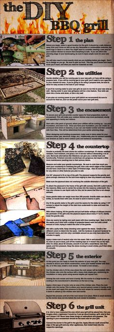 DIY Outdoor Kitchen - 10 Outdoor DIY Projects That Inspire Beauty and Relaxation