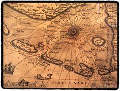 Old map.