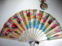 Helle Thomassen: Bolso /abanico/joya - inspirado de Marie Antoinette