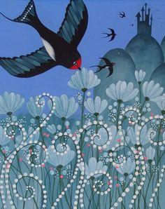 Charlotte Gastaut - L'hirondelle | Oeuvres | Galerie Robillard