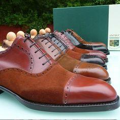 Ascot Shoes — Tag a friend who's a big big fan of suede shoes. Suede Shoes, Men's Shoes, Shoes Men, Derby, Ascot Shoes, Spectator Shoes, Vogue, Fresh Shoes, Your Shoes