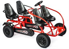 Online retailer of adult and kids toys, pedal go-karts to inspire for all ages. Three Wheel Bicycle, Homemade Go Kart, Swing And Slide, Go Car, Kids Ride On, Pedal Cars, Outdoor Toys, Cute Toys, Transportation Design