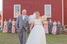 Ashley and Tim's Vintage Wedding at Valenzano Winery (@valenzanowinery) - New Jersey Bride @ashley5884