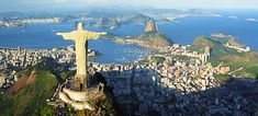 Rio offers many adventurous activities for thrill-seeking visitors. - Six Amazing Things To Do in Rio de Janeiro Places Around The World, Oh The Places You'll Go, Places To Travel, Places To Visit, Tourist Places, Vacation Destinations, Dream Vacations, Vacation Spots, Vacation Ideas