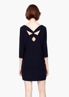 Sukienka dekolt v | MANGO