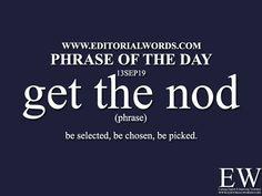 Phrase of the - Editorial Words English Idioms, English Phrases, Learn English Words, English Grammar, English Language, Essay Writing Skills, English Writing Skills, Writing Words, English Transition Words