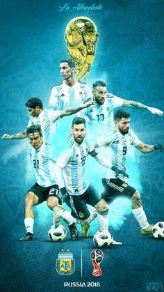 LA Albiceleste 🇦🇷 Football Is Life, Football Art, World Football, Football Memes, France National Football Team, Argentina Football Team, Argentina Players, Messi Argentina, Argentina Flag