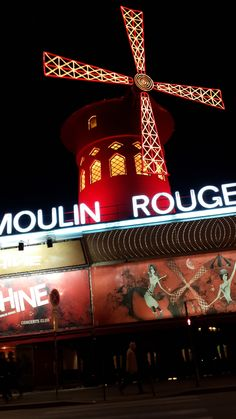 MOULIN ROUGE Paris March 15