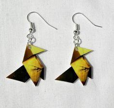 heavy rain earrings