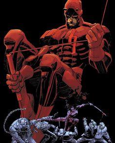 Daredevil: The Man Without Fear 3 Cover. #daredevil #daredevilthemanwithoutfear #frankmiller #johnromitajr #johnromita #marvel #marvelcomics #comics #elektra #daredevilcomics