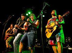 Hayseed Dixie, the hillbilly AC/DC!