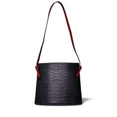 Trademark | Sybil Faux Croc Bag | Goop