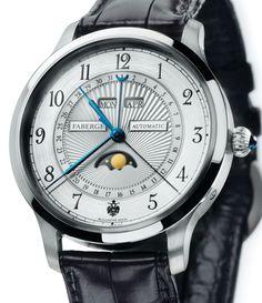 Fabergé | Agathon | Platin | Uhren-Datenbank watchtime.net