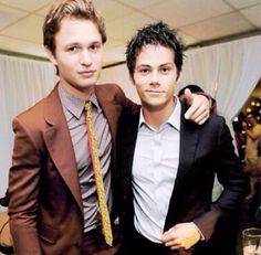 ANSEL ELGORT AND DYLAN OBRIEN YOU'RE WELCOME