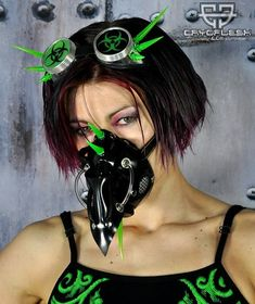 Doctor Plague Cyber Gas Mask