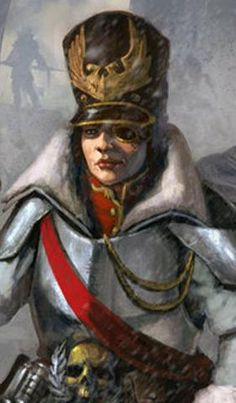 Imperial Army Discipline Master during the Great Crusade, the position which would later evolve into the Commissar.