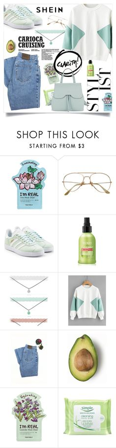 """Ko ko bop"" by xxmoony ❤ liked on Polyvore featuring TONYMOLY, adidas, Calvin Klein, Simple and Nanette Lepore"