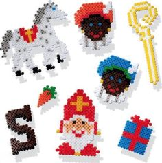 Diy For Kids, Crafts For Kids, Arts And Crafts, Hama Beads Patterns, Beading Patterns, Perler Beads, Granny Joy, Lego Winter, St Nicholas Day