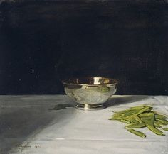 The Lustre Bowl with Green Peas − Sir William Nicholson − n − Artists A-Z − Online Collection − Collection − National Galleries of Scotland