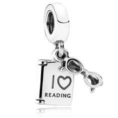 PANDORA Love Reading Charm #pandorajewelry