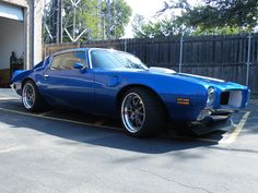 Very nice '72 Trans Am, built by Griffith Metal Shaping and features a 402ci LS2, JRS suspension, Baer Brakes, and Falken Tire Azenis RT-615K tires on 18-inch Forgeline GA3 wheels finished with Satin Gunmetal centers, Polished outers, and exposed hardware.