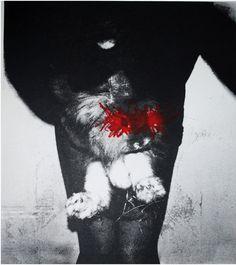 Dragones - Fati Rubio http://www.lemonycoco.es/dragones-exposicion-fati-rubio/ #grabado #exposición #arte #Schiele #filosofía #feminismo #identidad