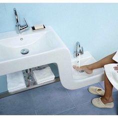 Vitra wash basin - Home and Garden Decoration Lavabo Design, Sink Design, Modern Bathroom Sink, Bathroom Fixtures, Bathroom Sinks, Vitra Bathrooms, Kitchen Sinks, Kitchen Modern, Kitchen Cabinets