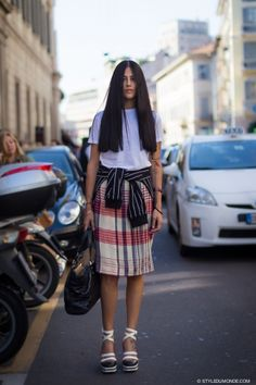 STYLE DU MONDE / Milan FW SS2014: Gilda Ambrosio  // #Fashion, #FashionBlog, #FashionBlogger, #Ootd, #OutfitOfTheDay, #StreetStyle, #Style