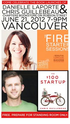 """Danielle Laporte: A contrarian self-help guru, Danielle Laporte is the author of The Firestarter Sessiona and doles out unconventional wisdom for creative and professional types. From """"how to maximize procrastination"""" to """"how to look hot in a professional photo,"""" her take is refreshing and inspirational."""
