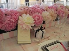 Baby shower centerpiece (for a girl!)