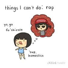 Things I can't do