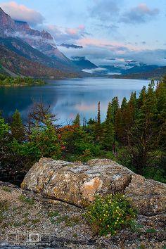 Saint Mary Lake, Glacier National Park, Montana
