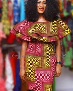 Lovely Ankara Styles for Curvy Women - Sisi Couture African Inspired Fashion, Latest African Fashion Dresses, African Print Dresses, African Dresses For Women, African Print Fashion, Africa Fashion, African Wear, African Attire, African Women