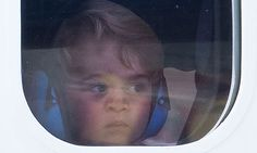 Prince George reveals his love for flying as he bids farewell to Canada