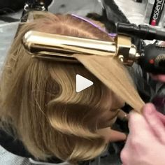 Our Top 17 Styling Quickies Of 2018 - Hair Styles - Best Hair Styles Wavy Wedding Hair, Wavy Hair, Vintage Waves Hair, Retro Waves Hair, Retro Curls, Vintage Curls, Hollywood Curls, Old Hollywood Hair, Finger Wave Hair
