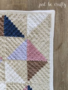 Crochet Afghan Quilt Series Part Making the Border & Finishing Touches Crochet Quilt Pattern, C2c Crochet, Crochet Squares, Crochet Crafts, Crochet Afghans, Crochet Crowd, Crochet Pillow, Diy Crafts, Crochet Poncho