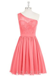 Shop Azazie Bridesmaid Dress - Betsy in Chiffon. Find the perfect made-to-order bridesmaid dresses for your bridal party in your favorite color, style and fabric at Azazie.